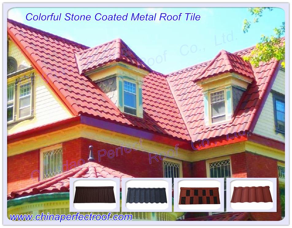 Stone Coated Metal Roof Tile Roofing Sheet Global Trade Leader Ecrobot Com